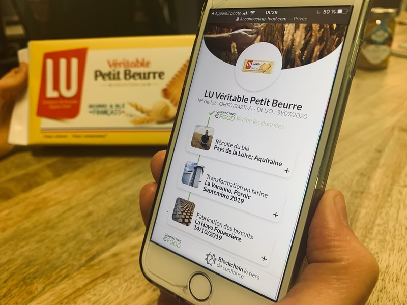 Petit Beurre LU Connecting Food