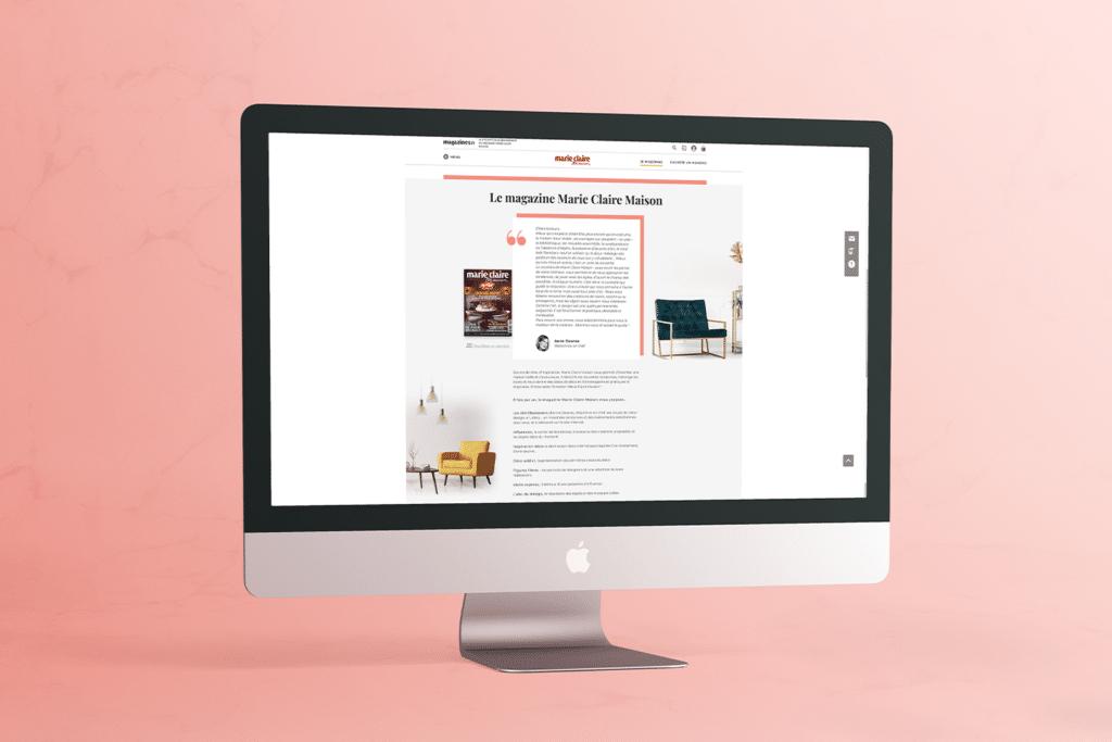 Refonte du site magazines.fr_Magazine Marie Claire Maison